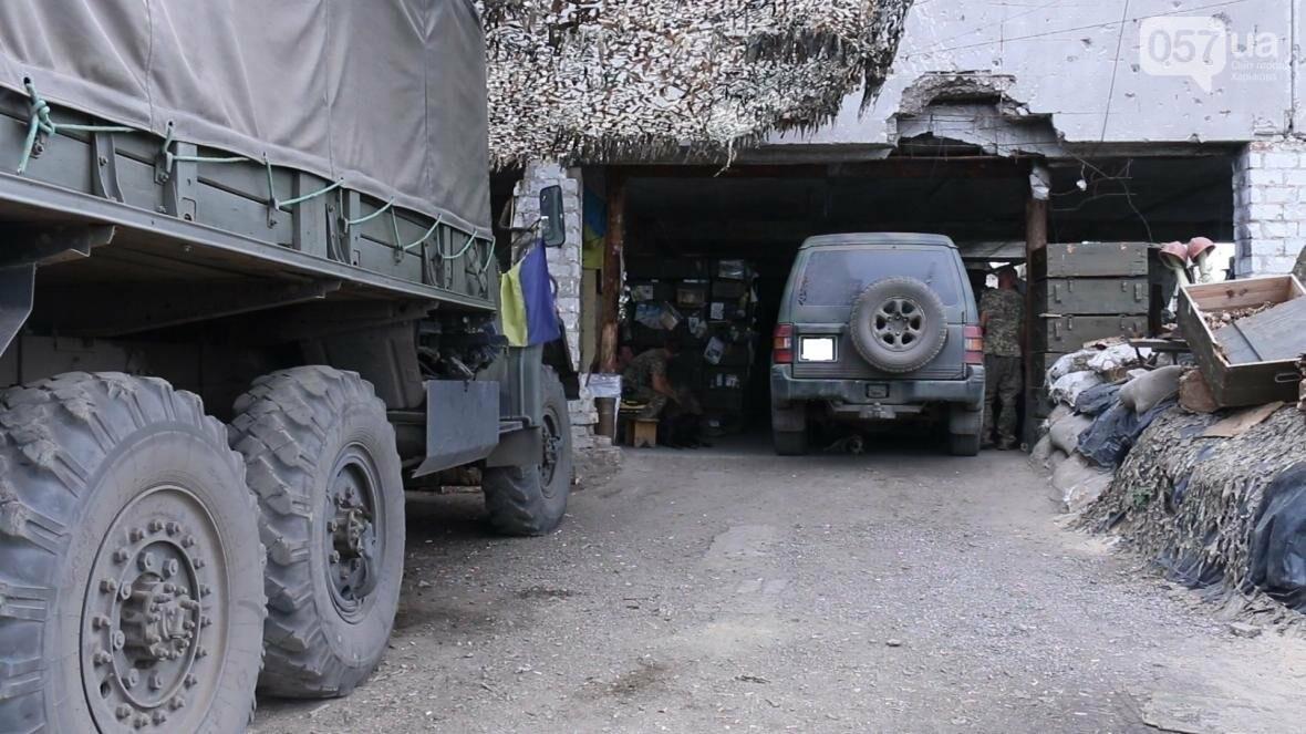 «Внедорожное» кладбище на линии фронта или почему военным приходится бросать волонтерские машины в зоне АТО, фото-3