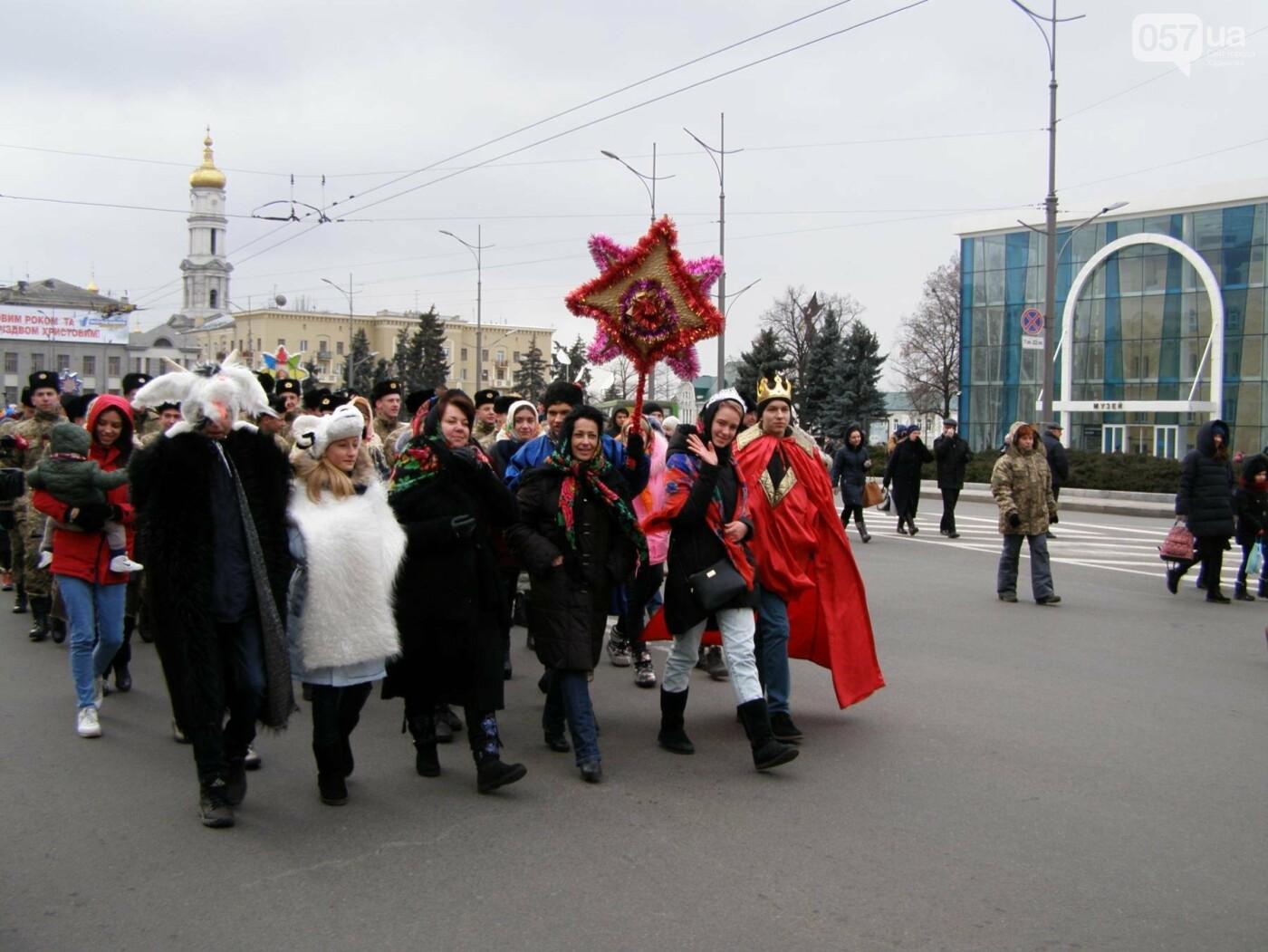 Харьков заполонили ангелы, козы и черти: в городе прошел масштабный фестиваль вертепов (ФОТО), фото-2