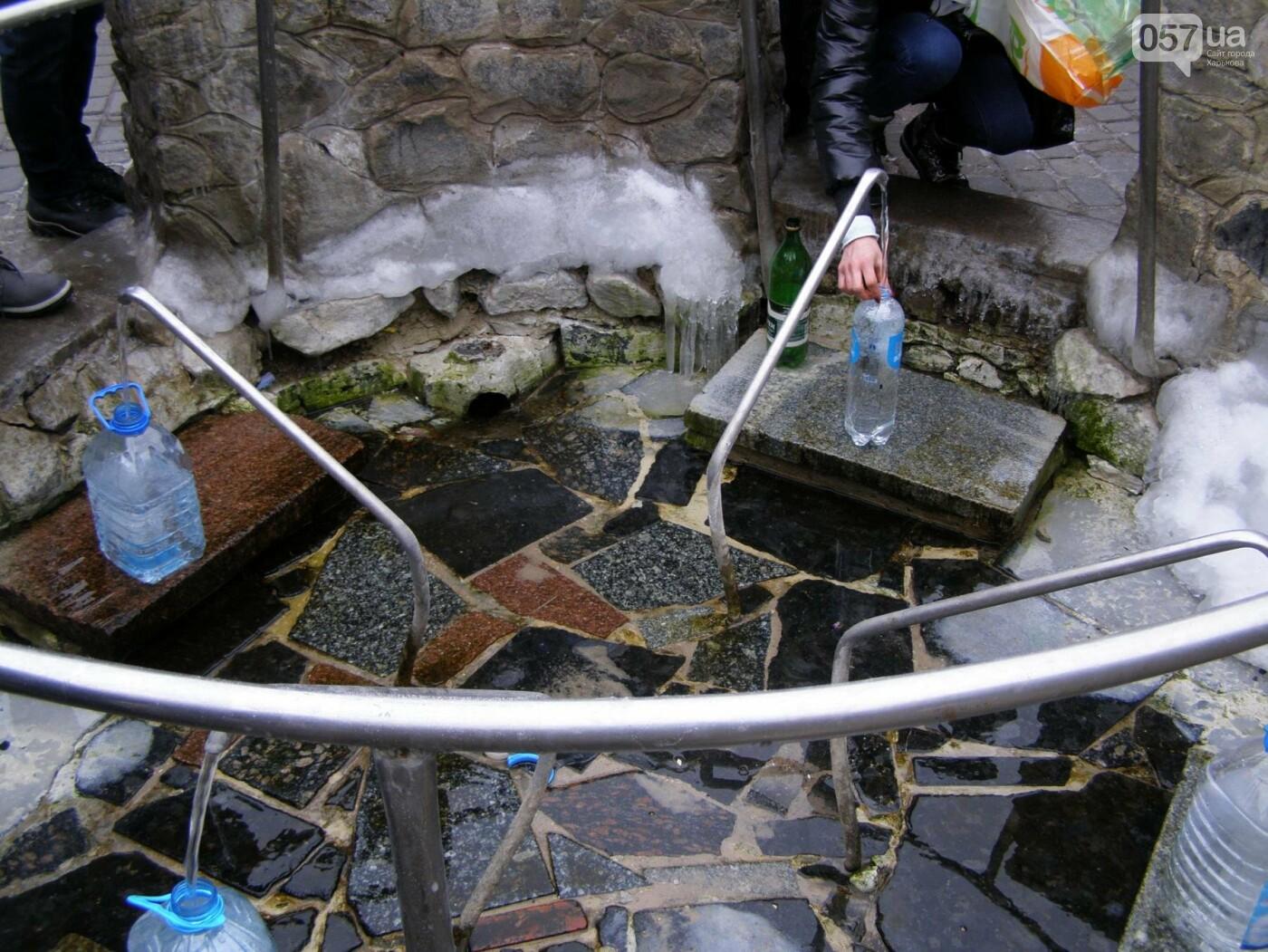 Массовые купания в источнике: как харьковчане отметили Крещение (ФОТО), фото-7