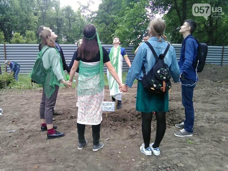 Деревья вместо паркинга: в саду Шевченко прошла экоакция, - ФОТО, фото-3