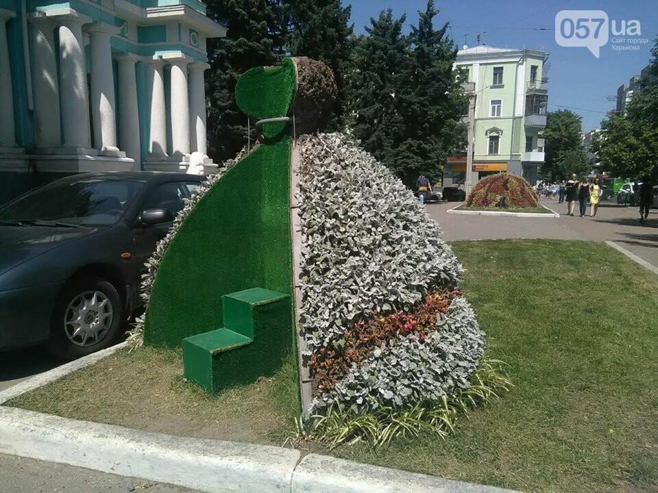 Пчела, бабочки и свадебное платье: в Харькове появились новые зеленые скульптуры, - ФОТО , фото-2