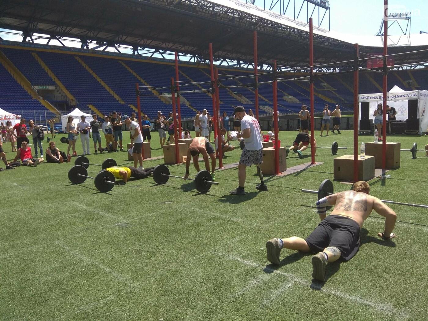 Фитнес и силовые упражнения. Как в Харькове проходят соревнования по кроссфиту, - ФОТО, фото-5