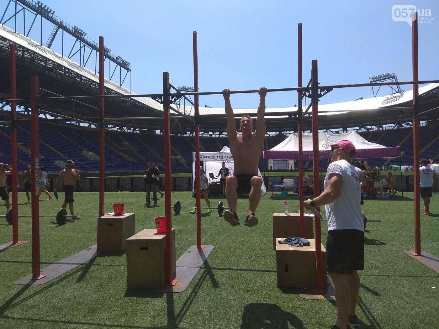 Фитнес и силовые упражнения. Как в Харькове проходят соревнования по кроссфиту, - ФОТО, фото-11