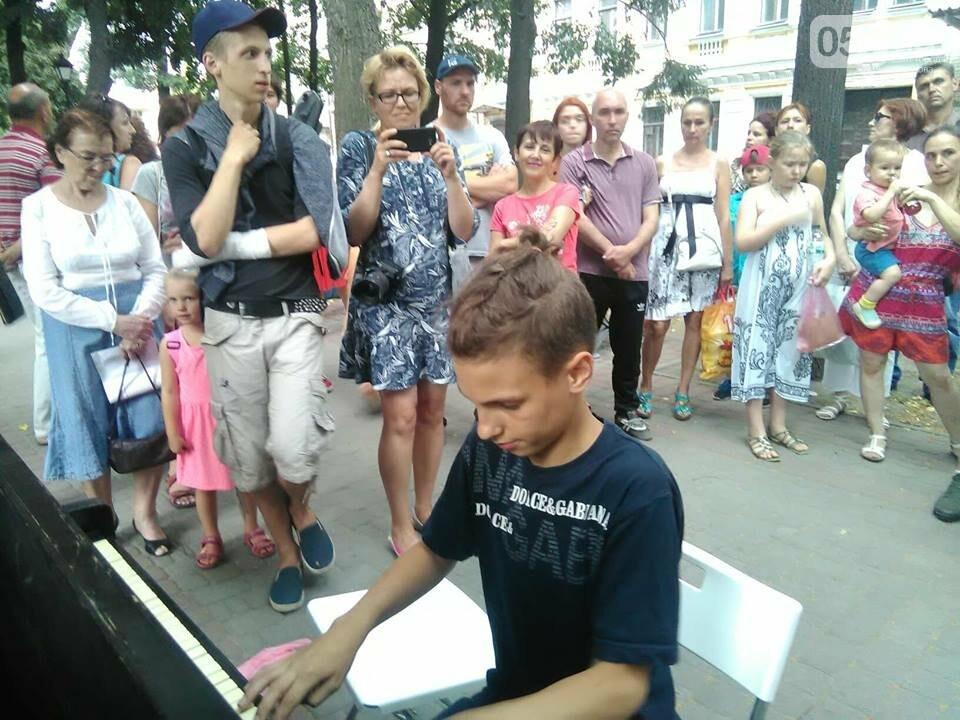 Скрипки, пианино и барабаны: как прошел День музыки в Харькове, - ФОТО, фото-9