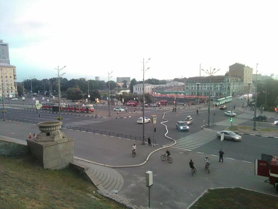 Харьковская полиция расследует пожар в УИПА, - ФОТО, фото-3