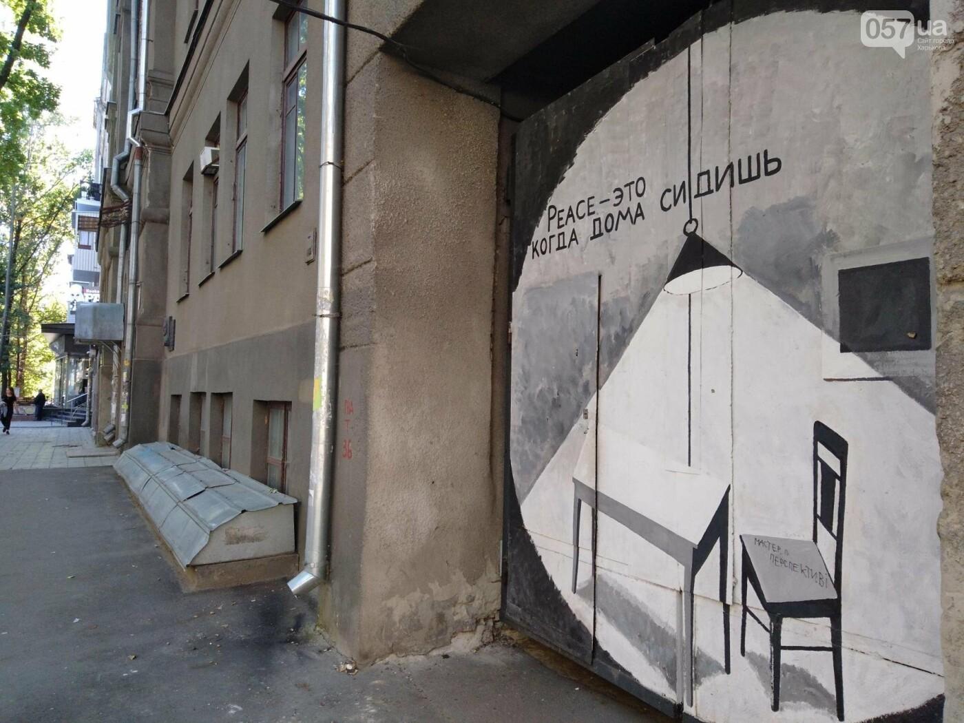Стрит-арт Гамлета в Харькове: ТОП-10 граффити художника, - ФОТО, фото-18