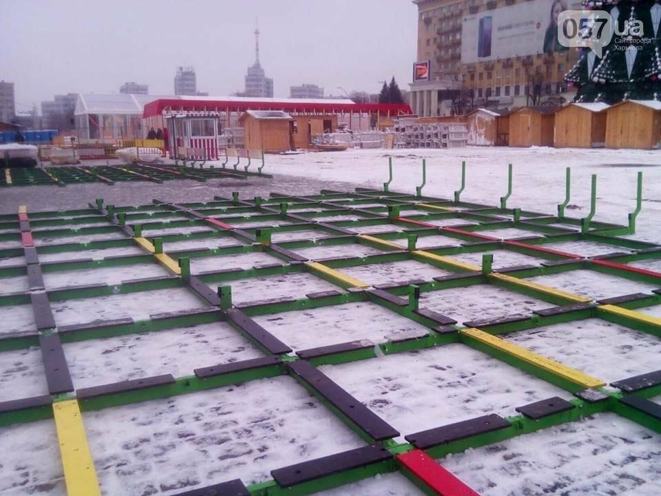 В центре Харькова из-за новогодних праздников перекрыли проезд, - ФОТО, фото-2