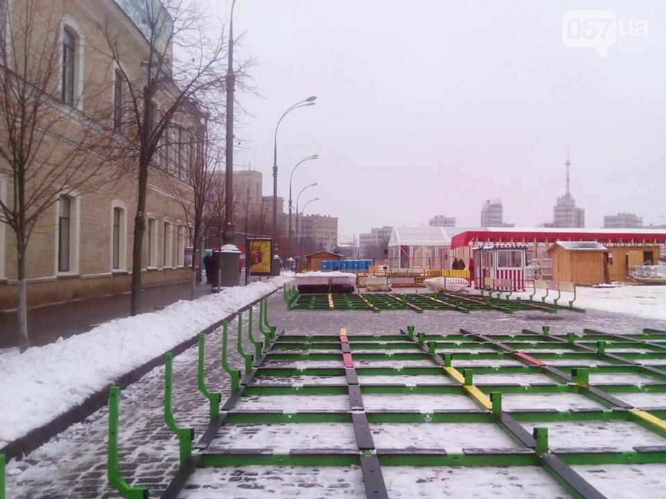В центре Харькова из-за новогодних праздников перекрыли проезд, - ФОТО, фото-1