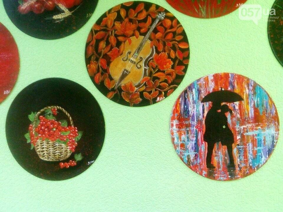 Картины на виниловых пластинках. Как харьковчанка создает уникальные рисунки, - ФОТО, фото-13