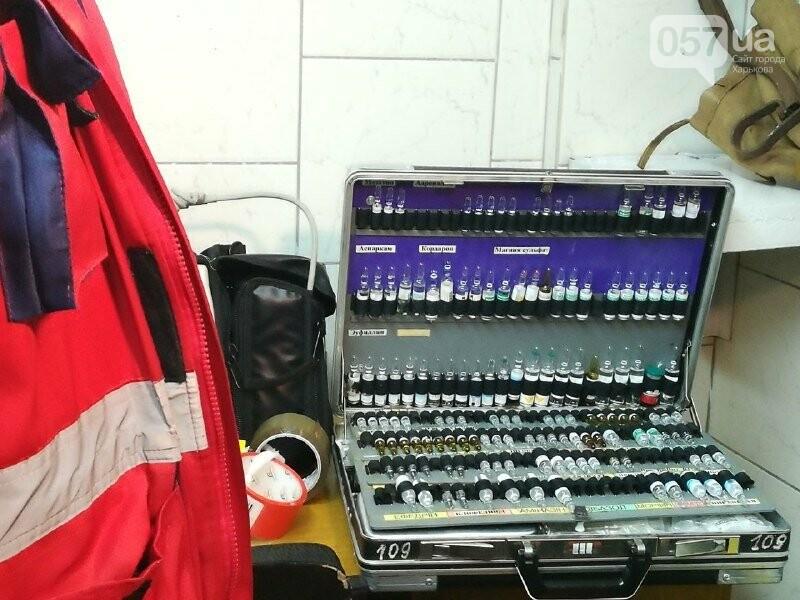 Медпункты, питьевые фонтаны и железные двери: в харьковском метрополитене провели специальные учения, - ФОТО, фото-12