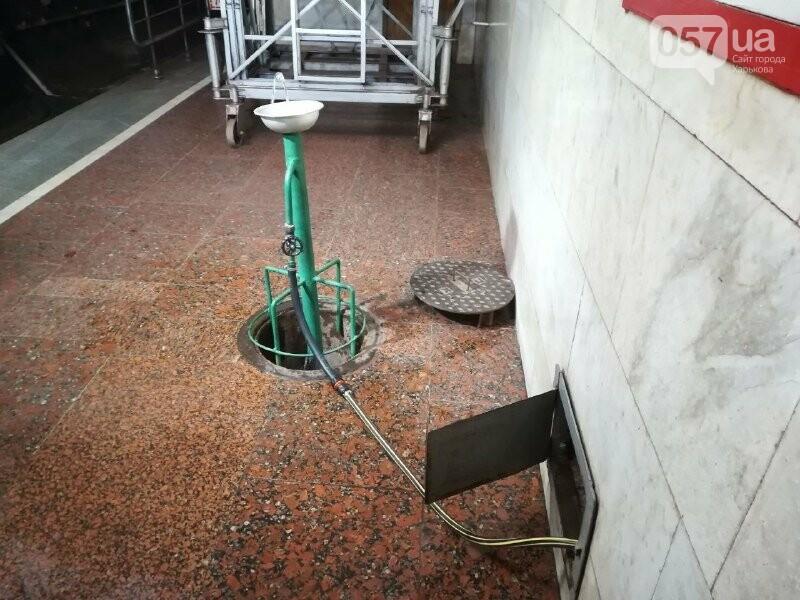 Медпункты, питьевые фонтаны и железные двери: в харьковском метрополитене провели специальные учения, - ФОТО, фото-15