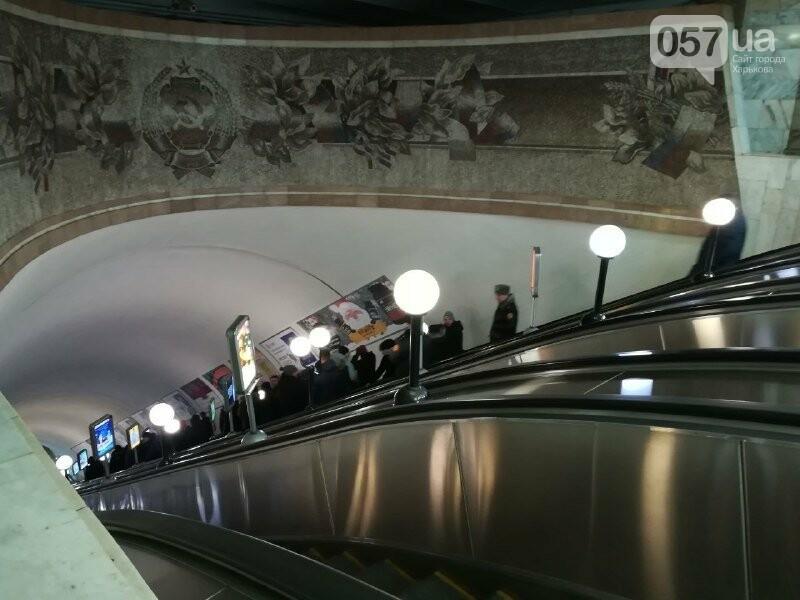Медпункты, питьевые фонтаны и железные двери: в харьковском метрополитене провели специальные учения, - ФОТО, фото-4