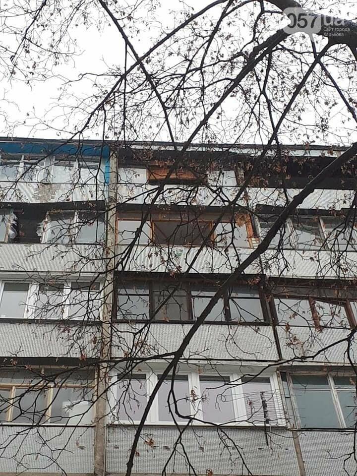 На Салтовке неизвестная женщина выбросилась в окно, - ФОТО, фото-2