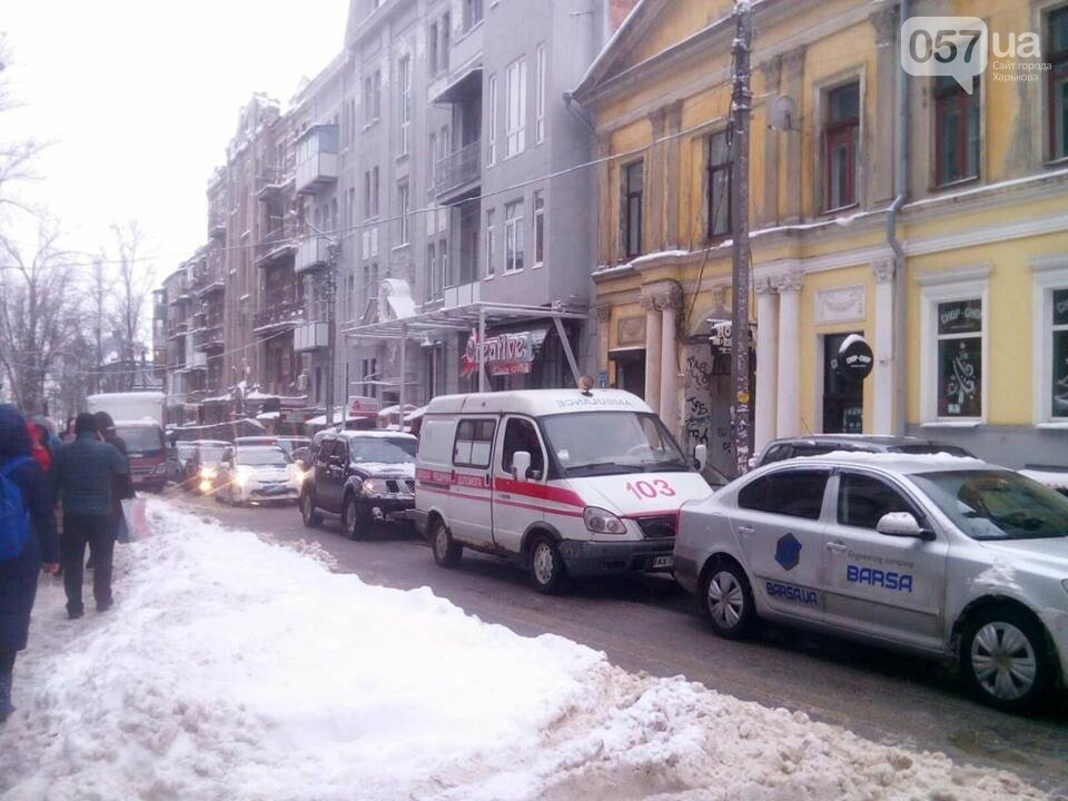 В центре Харькова образовались пробки, - ФОТО, фото-3