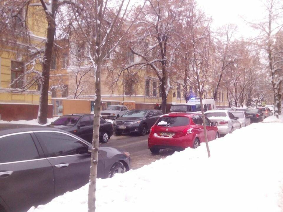 В центре Харькова образовались пробки, - ФОТО, фото-1