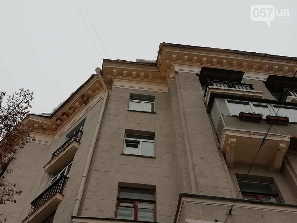 В центре Харькова из-за обвала снега рухнула терраса ресторана, - ФОТО, фото-6