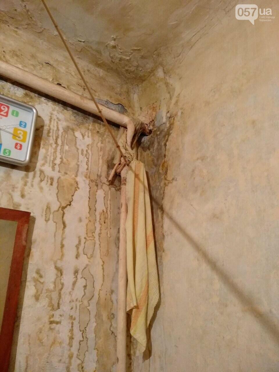 Залитые стены квартир и разваливающаяся стена дома: харьковчане пытаются справиться с коммунальным коллапсом, - ФОТО, фото-11