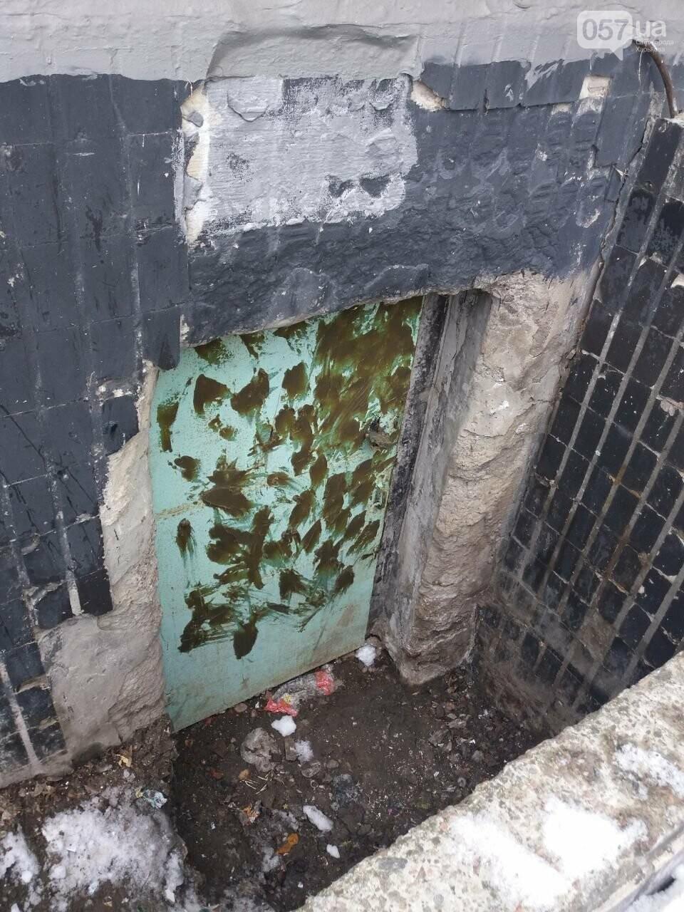 Заварили замок и замазали дверь: конфликт из-за подвала дома на Салтовке продолжается, - ФОТО, фото-5