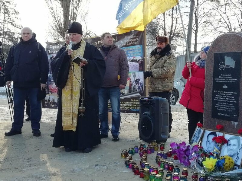 Харьковчане почтили память жертв, погибших в теракте возле Дворца спорта, - ФОТО, фото-4