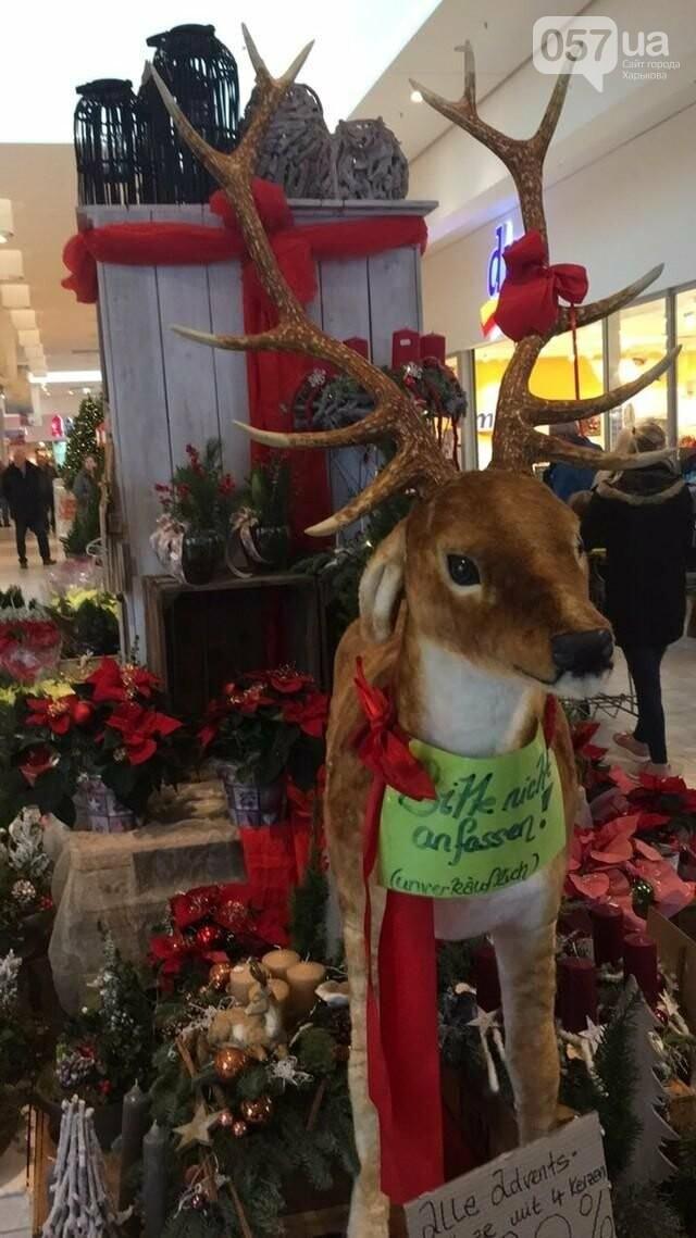 Торговый центр на Рождество в Германии