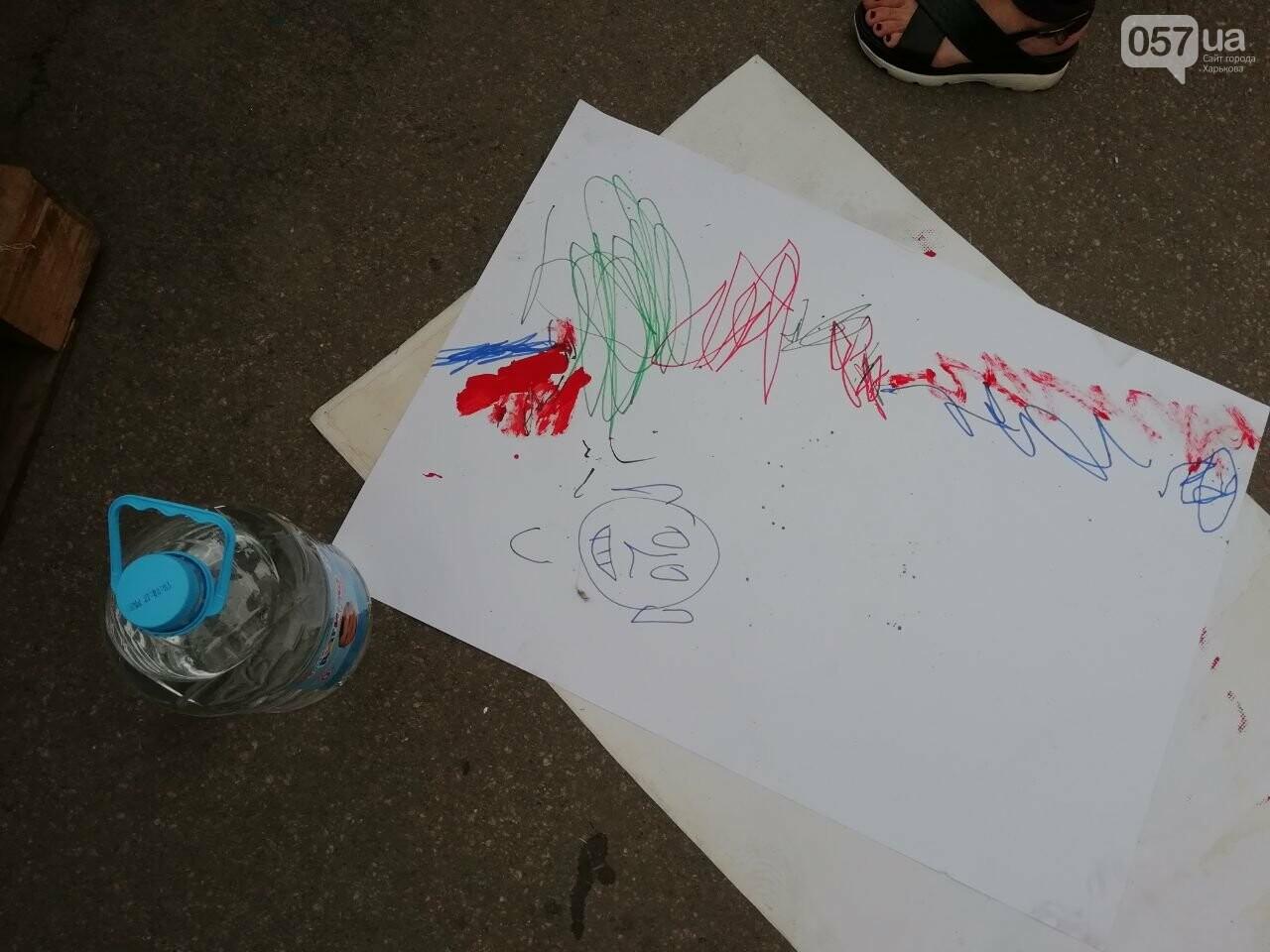 Нарисуй претензию к Кернесу: на площади Свободы организовали акцию, - ФОТО, фото-8