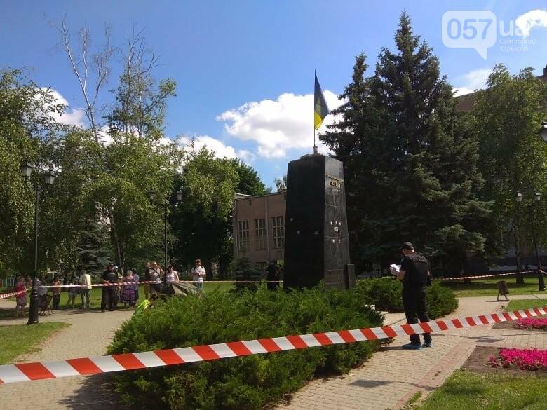 В Харькове снесли бюст маршала Жукова, - ФОТО, фото-5