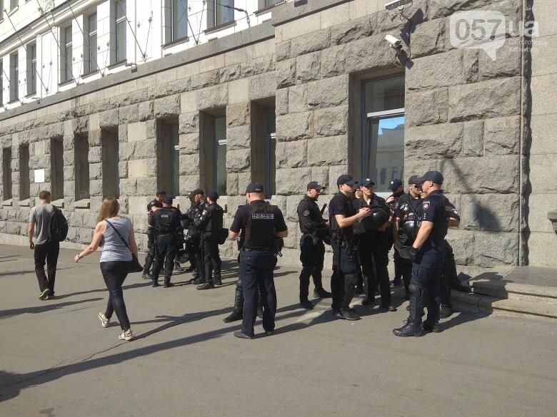 Возле мэрии проходит пикет против переименования проспекта Григоренко, - ФОТО, фото-14