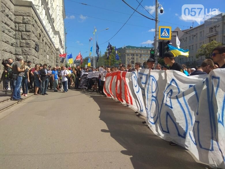 Возле мэрии проходит пикет против переименования проспекта Григоренко, - ФОТО, фото-4
