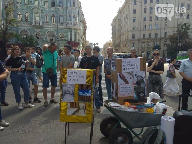 Возле мэрии проходит пикет против переименования проспекта Григоренко, - ФОТО, фото-13