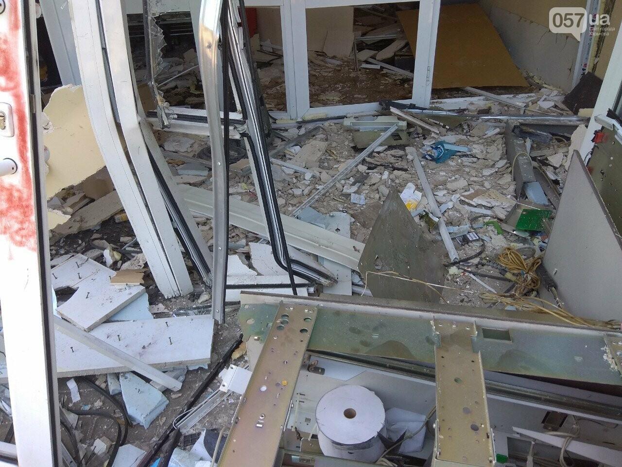 Взрыв банкомата на Алексеевке: неизвестные нанесли магазину убыток на 200 тысяч гривен, - ВИДЕО, фото-3