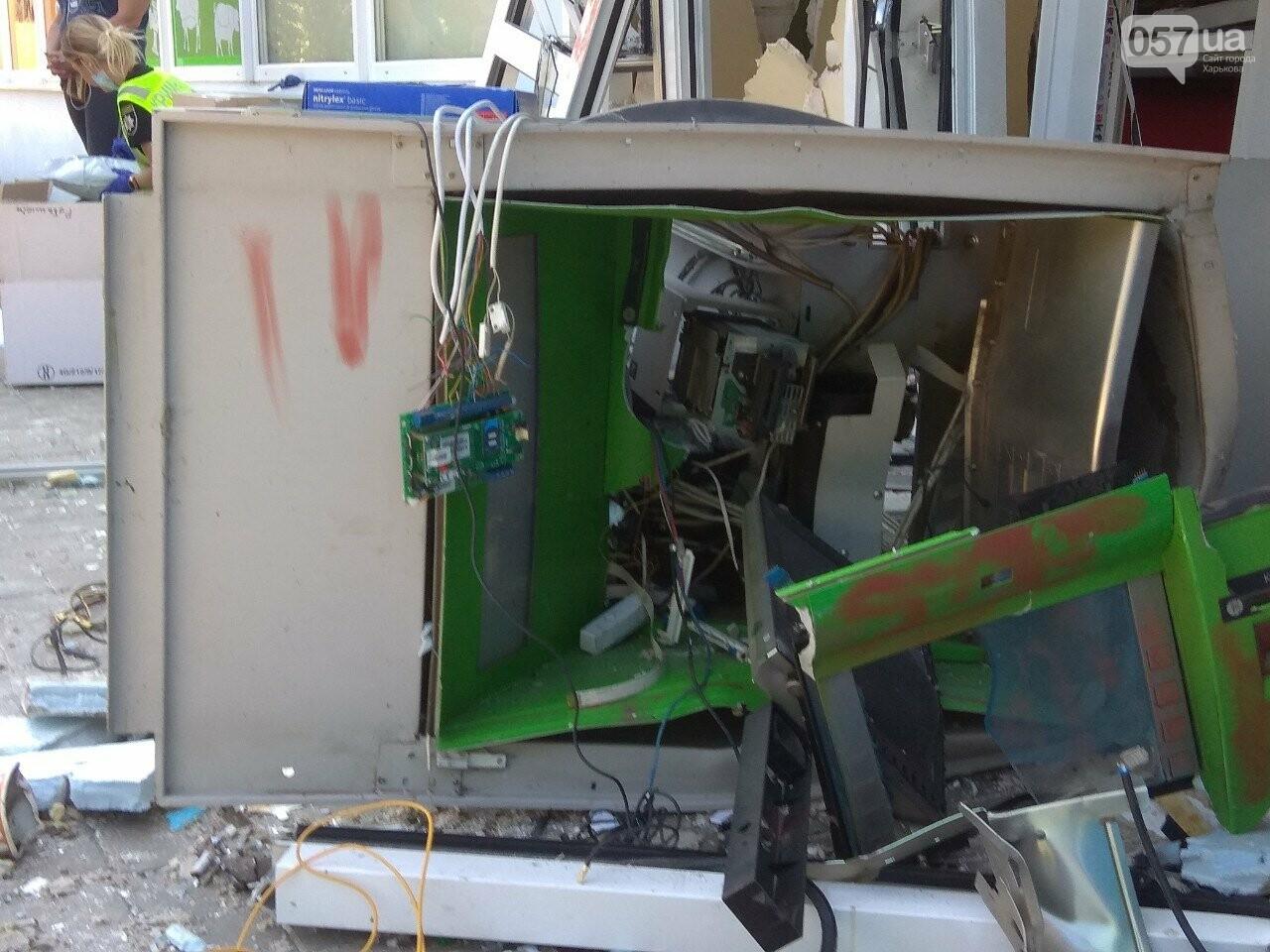 Взрыв банкомата на Алексеевке: неизвестные нанесли магазину убыток на 200 тысяч гривен, - ВИДЕО, фото-6
