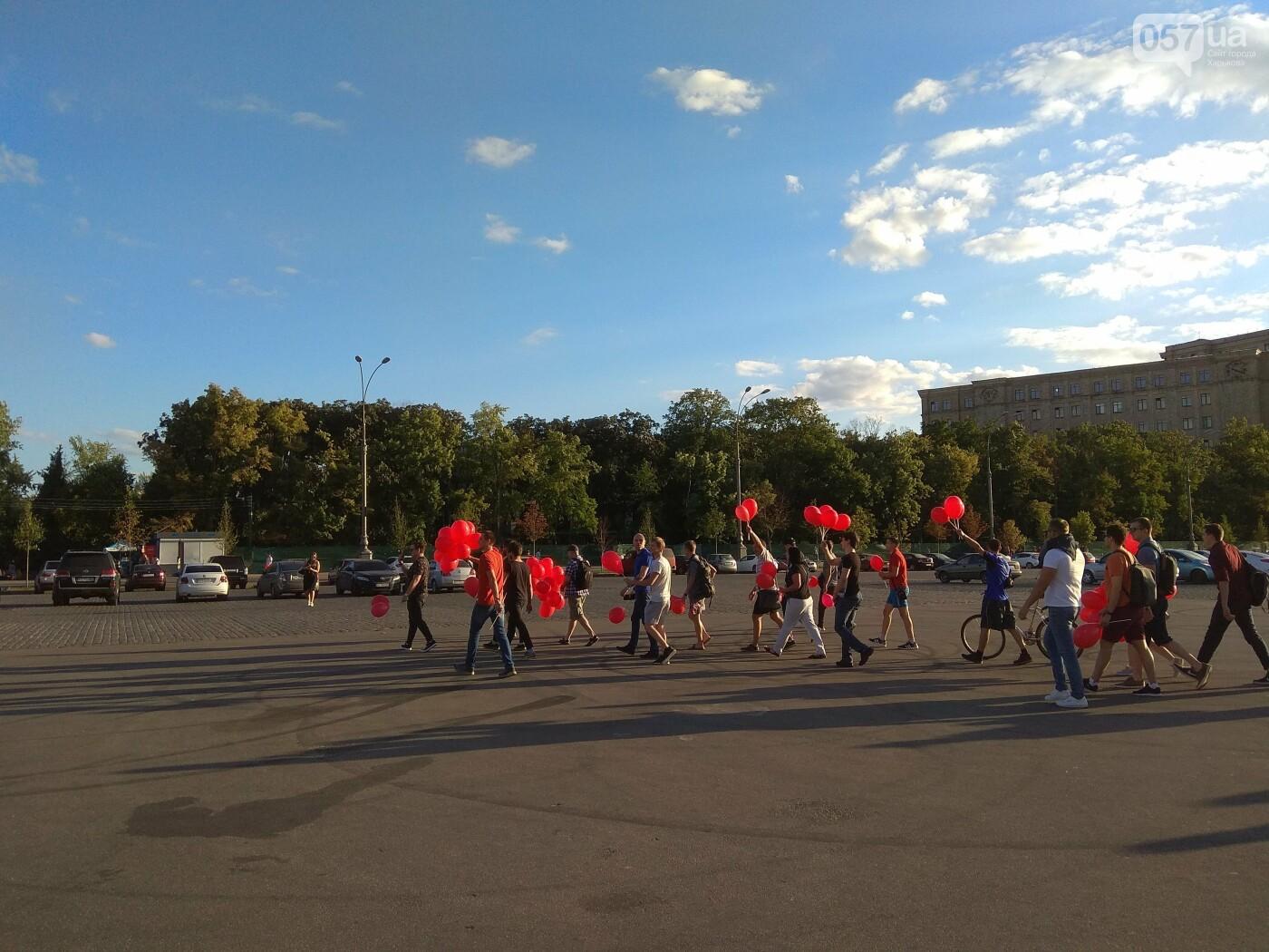 """""""Троллинг"""" и перепалка: харьковские активисты прогнали с площади Свободы сторонников Шария, - ФОТО, фото-4"""