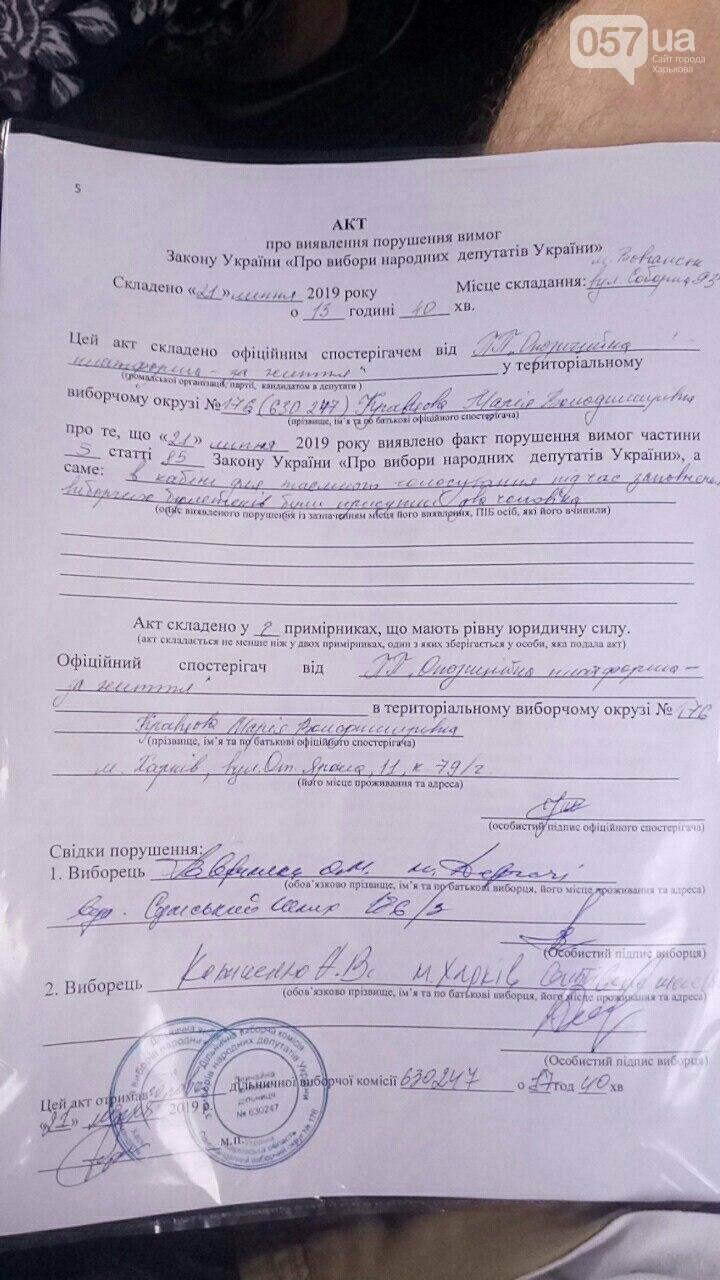 На Харьковщине зафиксирован ряд нарушений избирательного процесса, фото-1