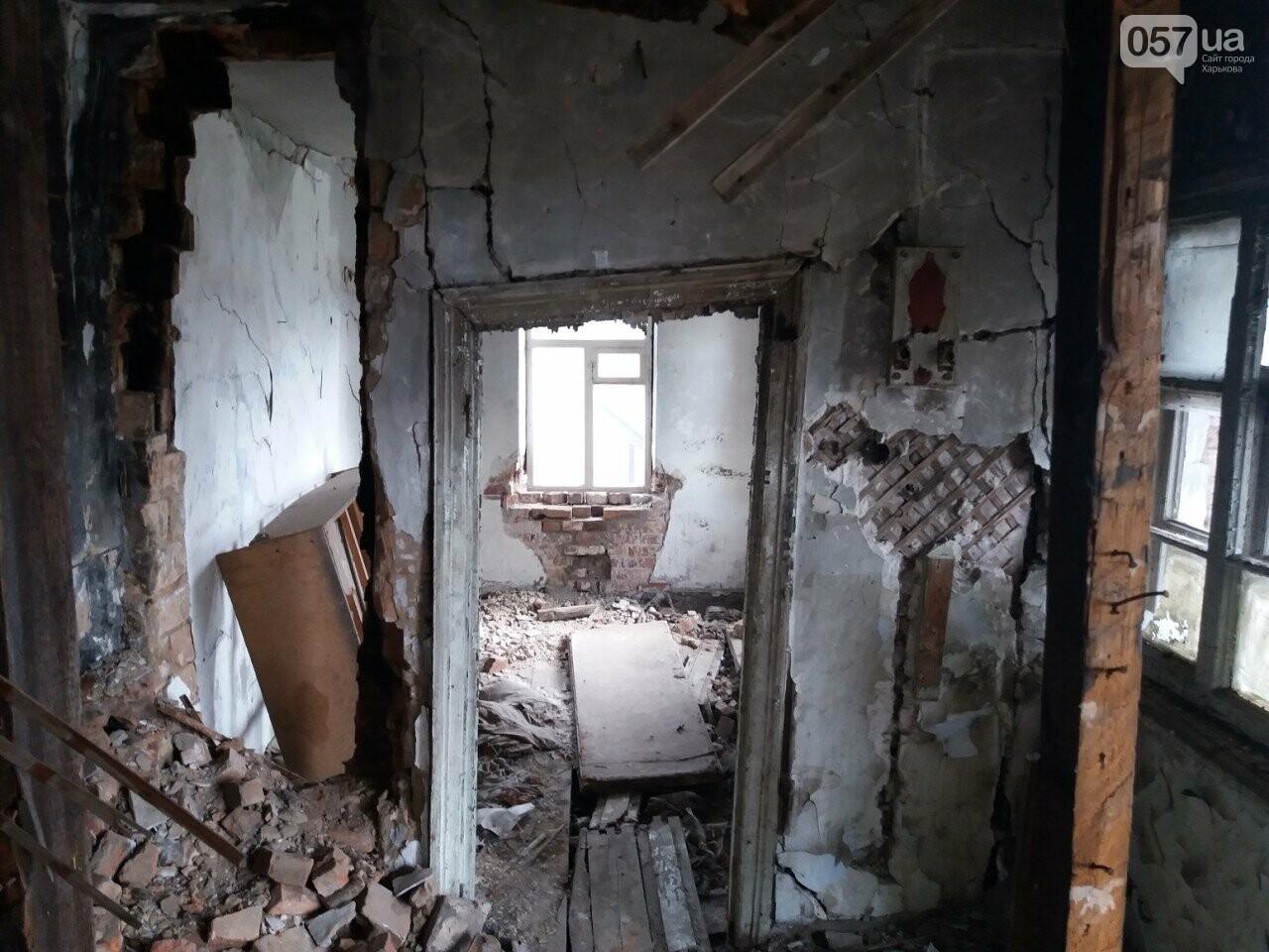 10 лет без ремонта: почему в Харькове не спешат восстанавливать аварийный дом, - ФОТО, фото-6