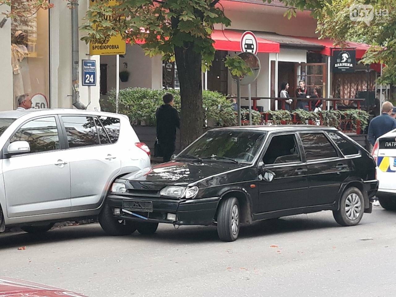 В центре Харькова «легковушка» сбила 16-летнюю девушку: пострадавшая в больнице, - ФОТО, ВИДЕО, фото-1