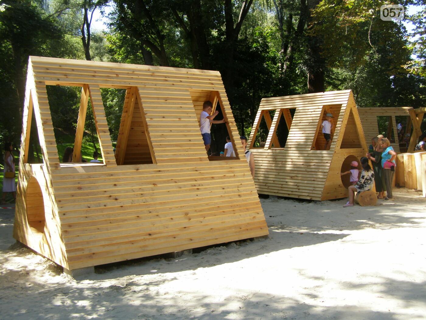 Детская площадка, настольный теннис и велодорожки: в Саржином Яру открыли новые локации, - ФОТО, фото-15