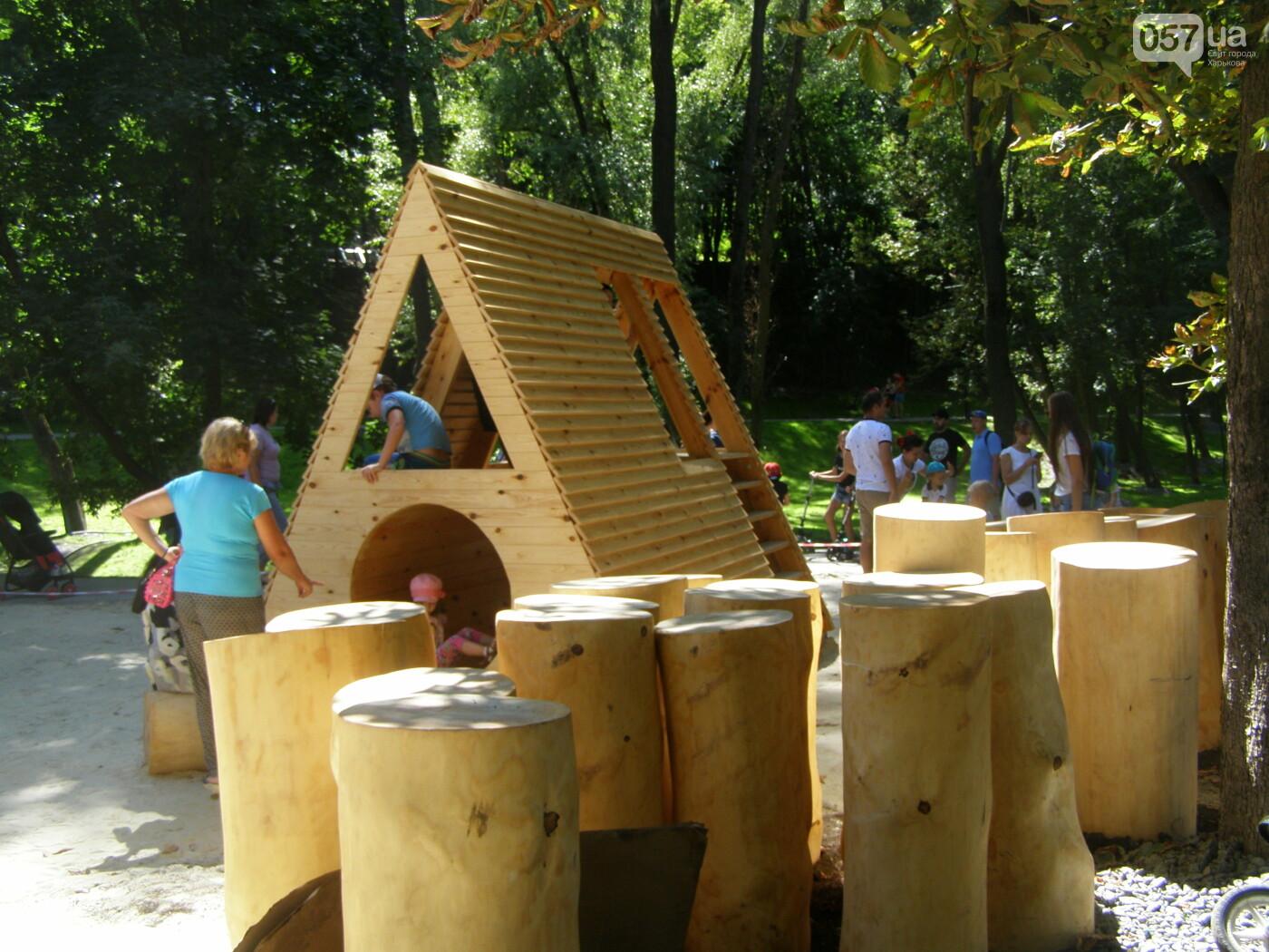 Детская площадка, настольный теннис и велодорожки: в Саржином Яру открыли новые локации, - ФОТО, фото-16