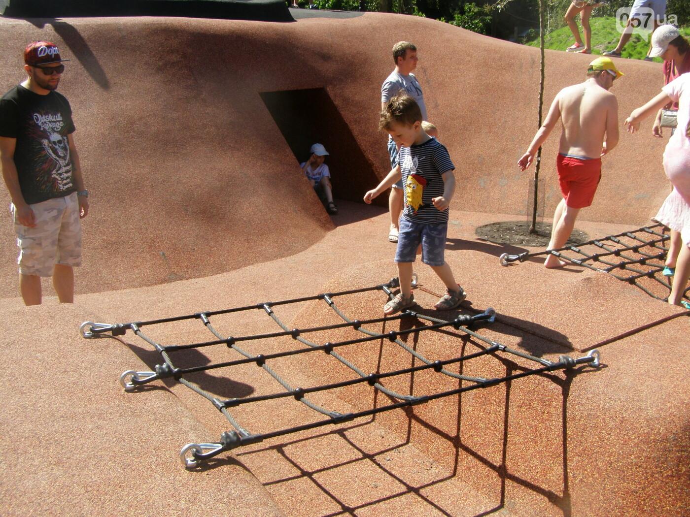 Детская площадка, настольный теннис и велодорожки: в Саржином Яру открыли новые локации, - ФОТО, фото-10