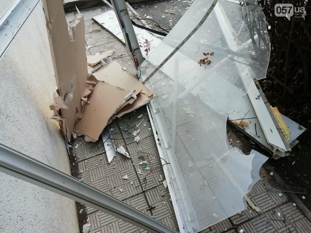 """""""Посыпались стекла и вынесло металлическую дверь"""": подробности взрыва банкомата на Клочковской, - ФОТО, ВИДЕО, фото-24"""