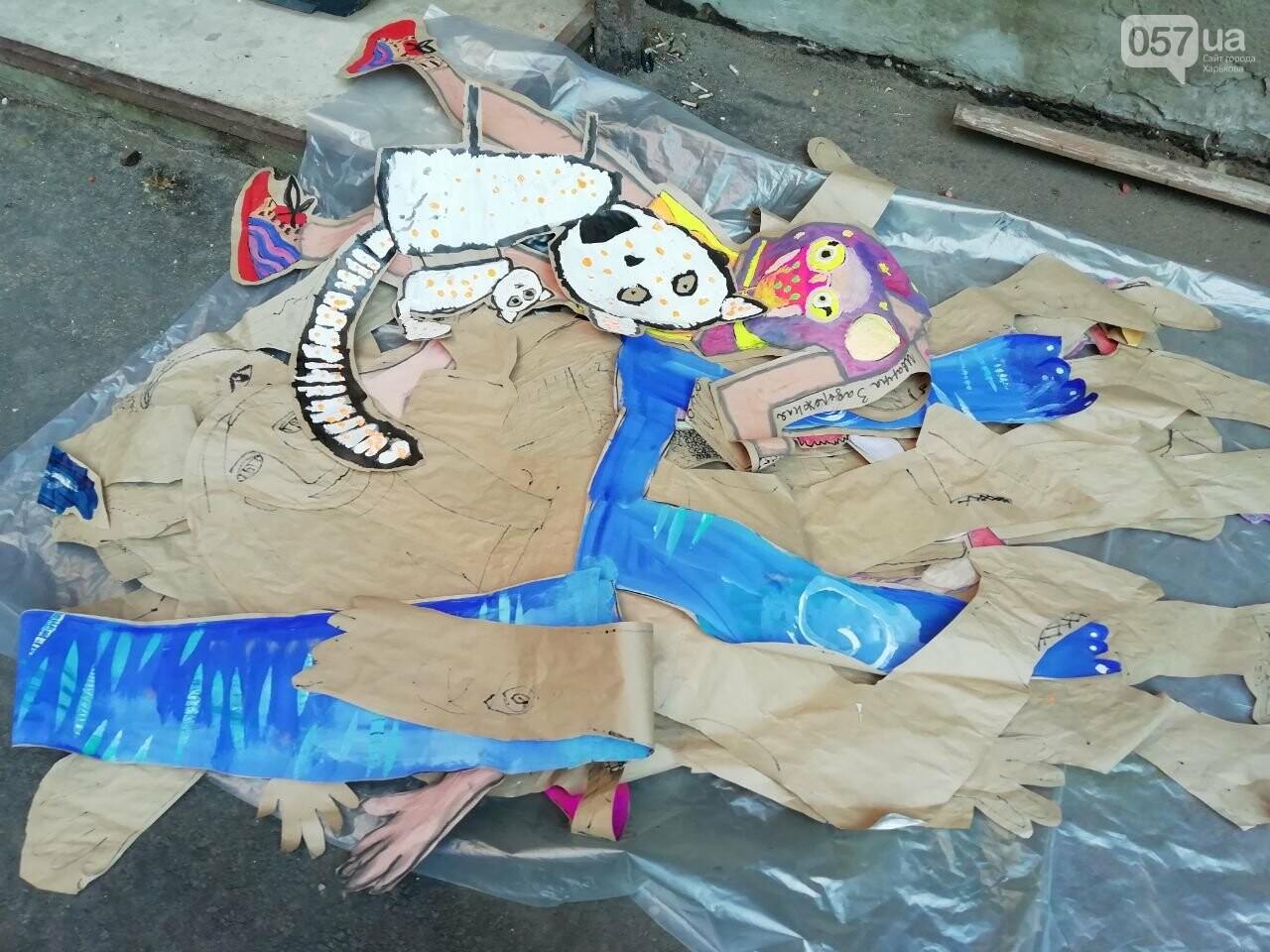 «Город – это мы»: в центре Харькова устроили яркую арт-акцию, - ФОТО, фото-10