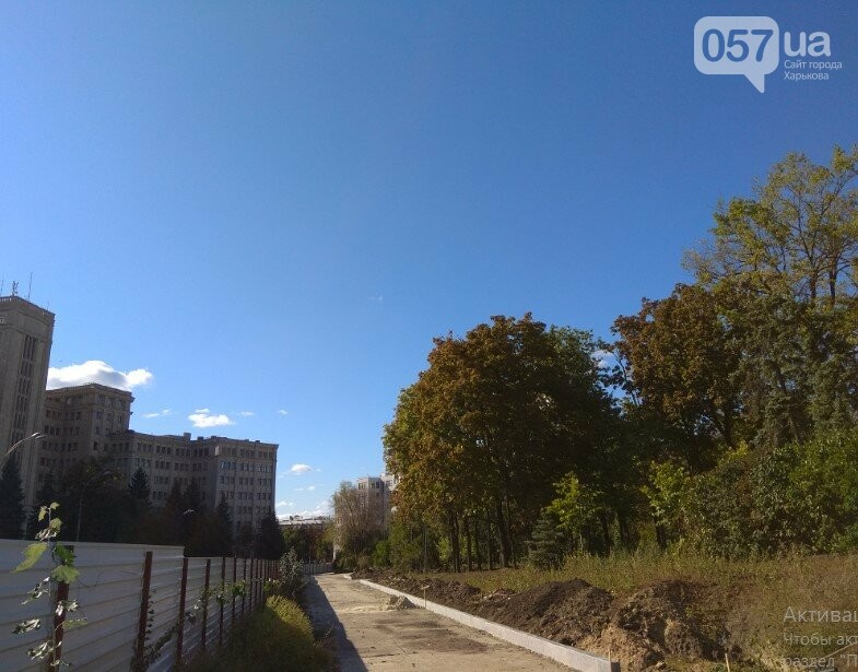 Фирма харьковского депутата проводит реконструкцию сквера на площади Свободы, - ФОТО, фото-12