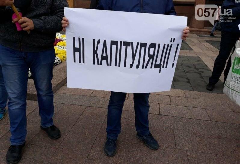 «Сдача национальных интересов Украины недопустима»: в Харькове активисты выступили с требованием к облсовету, - ФОТО, фото-10
