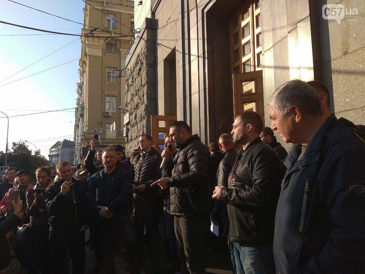 «Нам дорога не нужна»: предприниматели «Барабашово» пикетируют горсовет, - ФОТО, фото-4