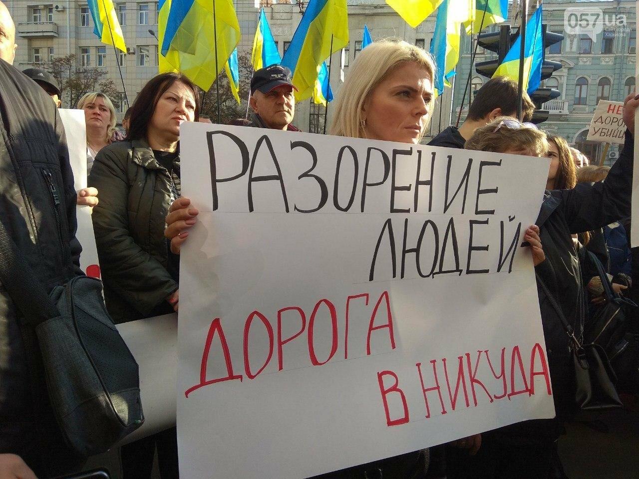 «Нам дорога не нужна»: предприниматели «Барабашово» пикетируют горсовет, - ФОТО, фото-1