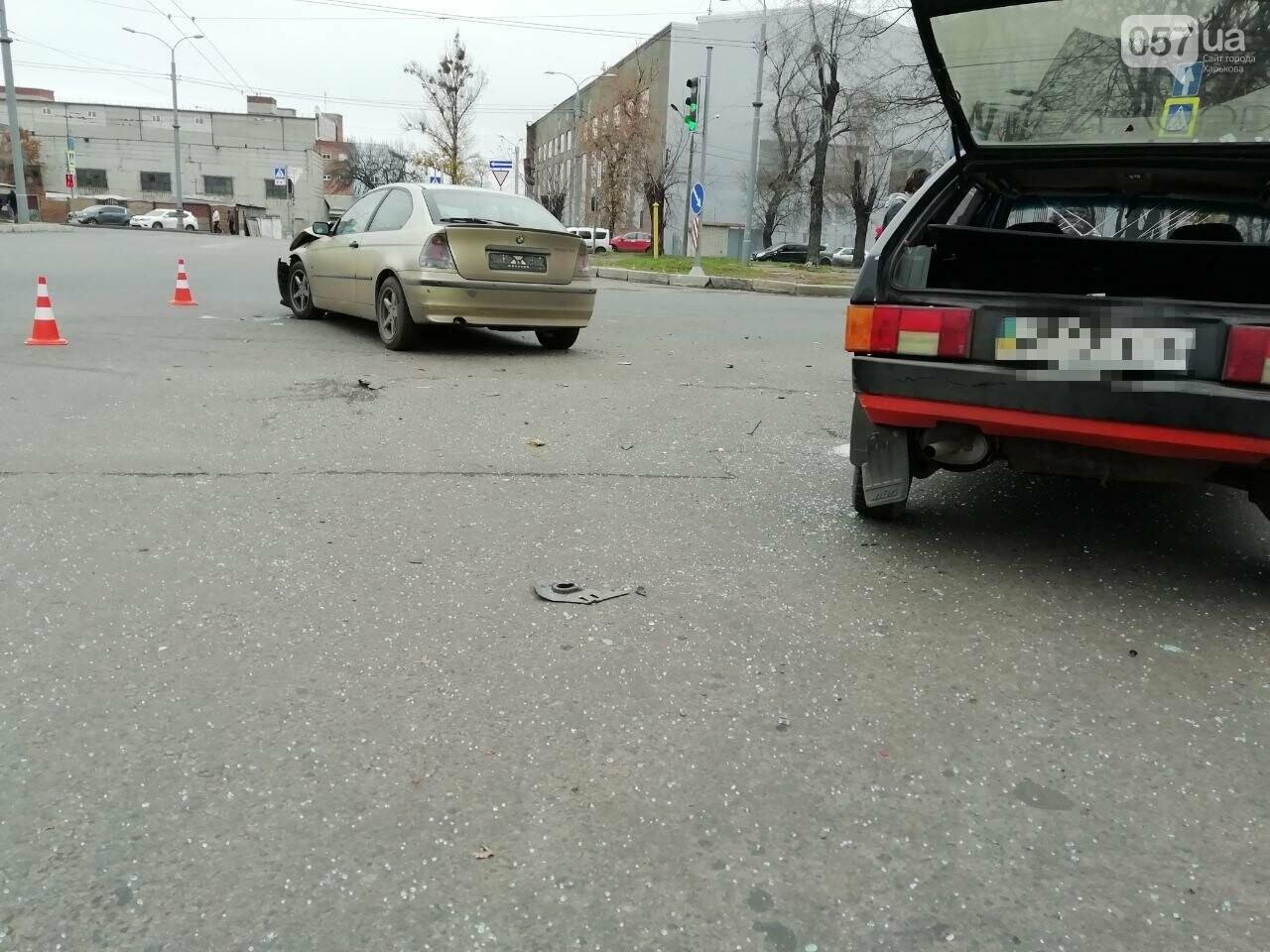 """На Московському проспекті не розминулися автомобілі """"BMW"""" та """"ВАЗ"""", - ФОТО, фото-9"""