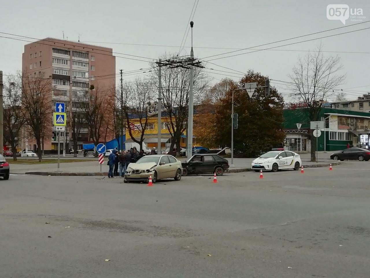 """На Московському проспекті не розминулися автомобілі """"BMW"""" та """"ВАЗ"""", - ФОТО, фото-3"""