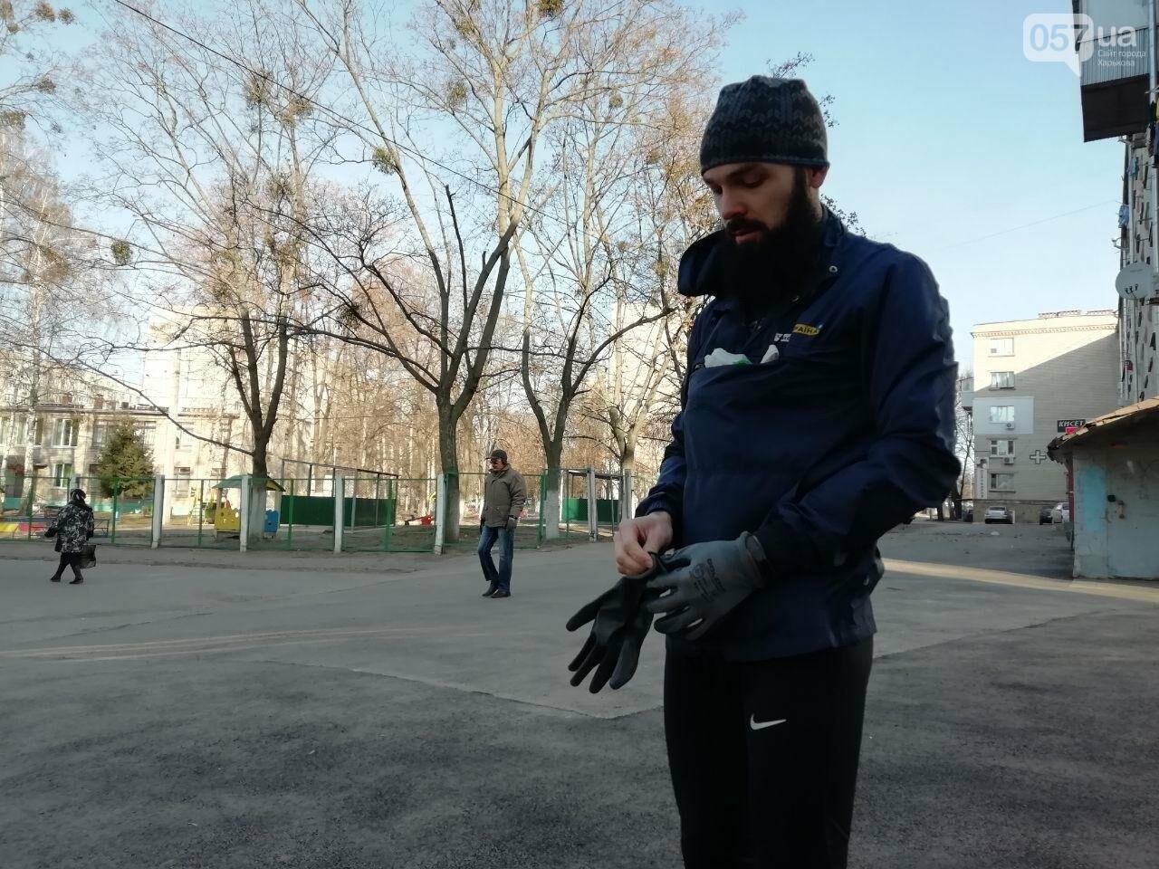 Харьковчанин собирает мусор во время пробежек. Интервью с «Бегущей бородой», - ФОТО, фото-1