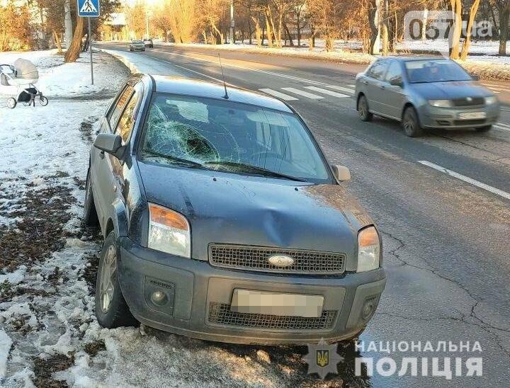 Выехал на обочину: в Харькове водитель «Ford» сбил грудного ребенка и его дедушку, - ФОТО, фото-1