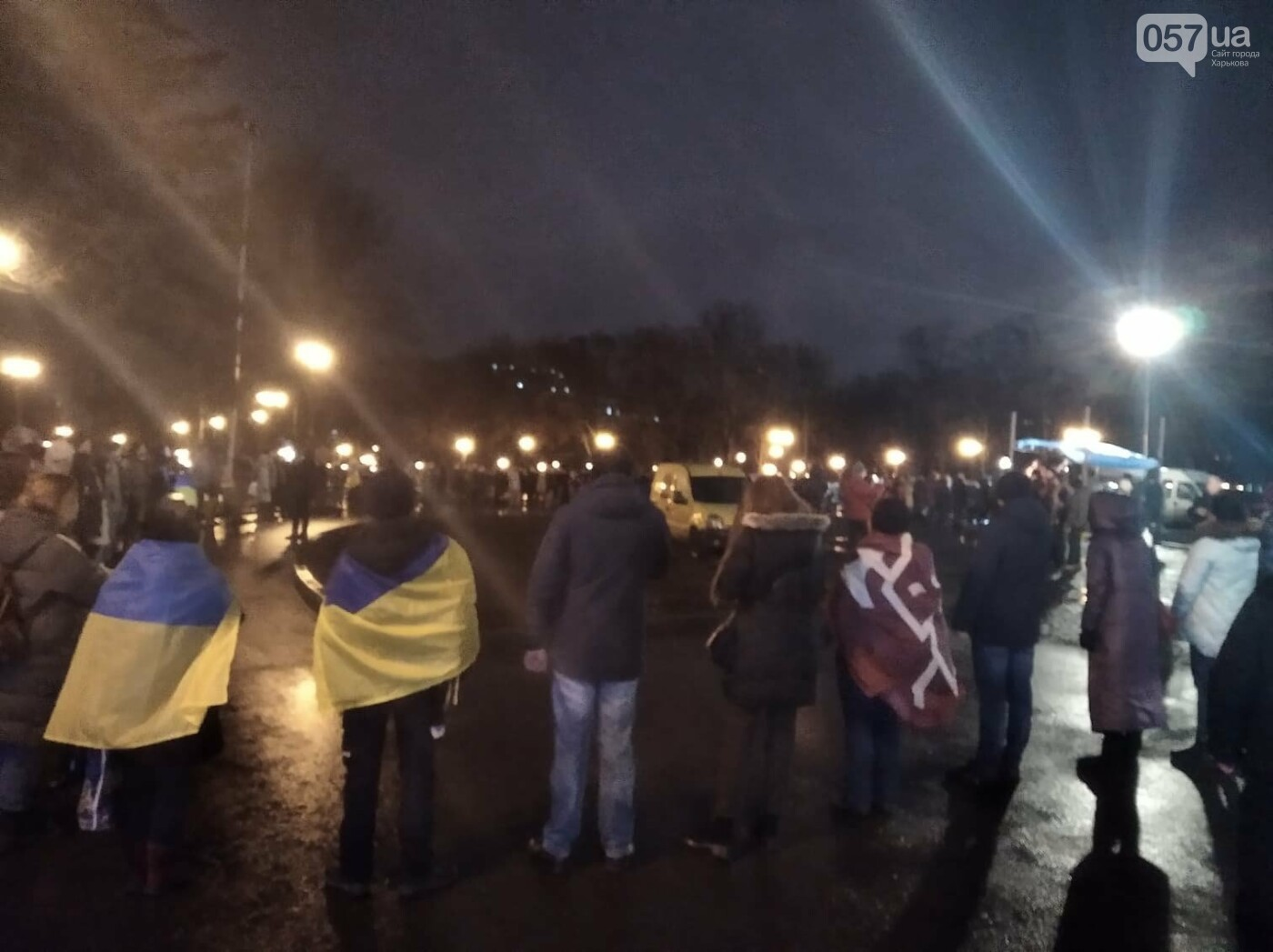 В Харькове активисты создали живую цепь в честь Дня Соборности Украины, - ФОТО, фото-1