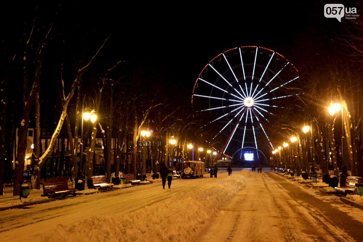Главная аллея в парке Горького